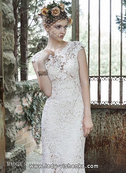 Мереживні весільні сукні 2016 - Maggie Sottero