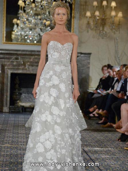 Весільні сукні з мереживом 2016 - Mira Zwillinger