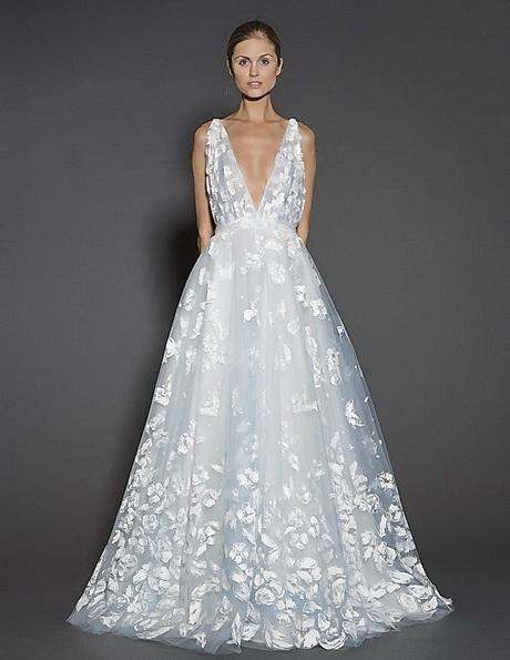 Мереживні весільні сукні 2016 - Naeem Khan