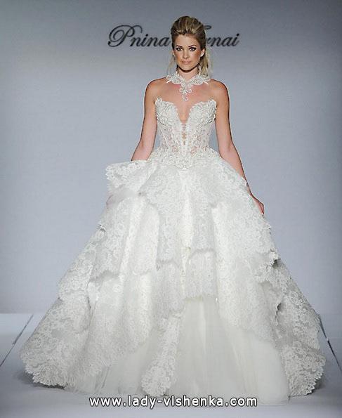 Весільне плаття пишне з мереживом - Pnina Tornai