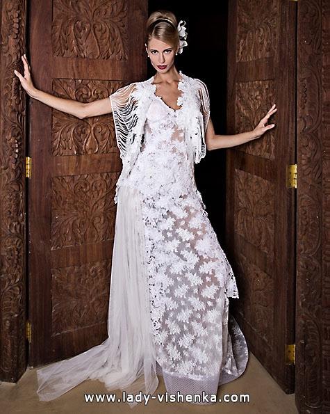 Весільні сукні з мереживом 2016 - Jordi Dalmau