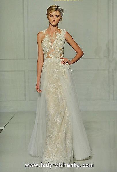 Мереживні весільні сукні 2016 - Pronovias