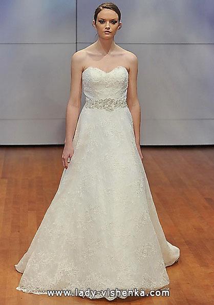Довга мереживна весільна сукня 2016 - Rita Vinieris