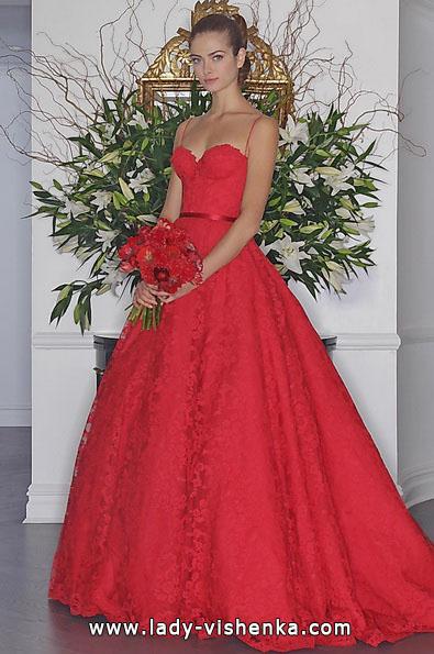 Весільне плаття пишне з мереживом - Romona Keveza