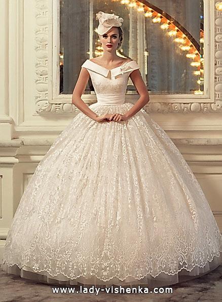 пишне Весільне мереживну сукню 2016 - Tatiana Kaplun