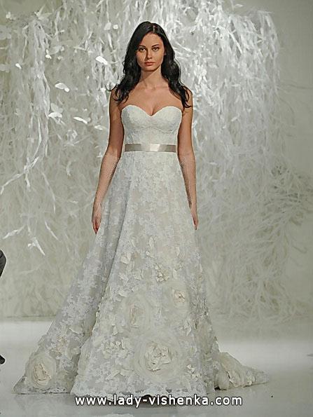Мереживні весільні сукні А-силуету - Watters