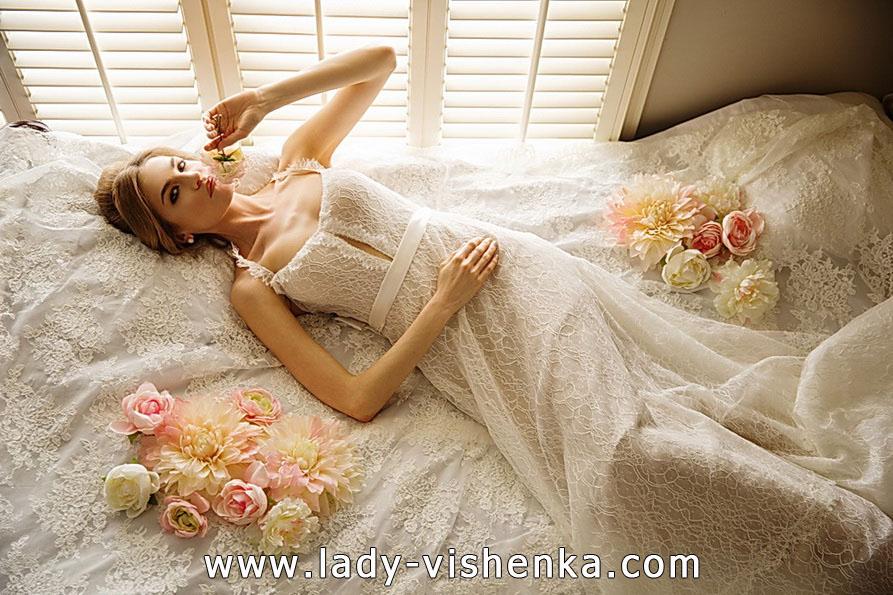 Мереживне весільне плаття 2016 - Olia Zavozina
