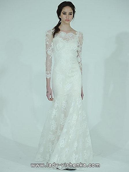 Мереживна весільна сукня - рибка - Claire Pettibone