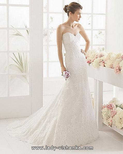 Мереживна весільна сукня - риб'ячий хвіст - Aire Barcelona
