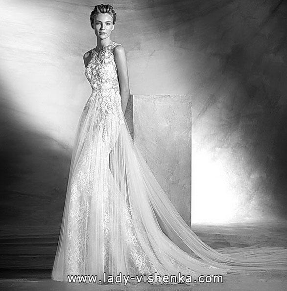 Красиве весільне плаття русалочка - фото - Pronovias