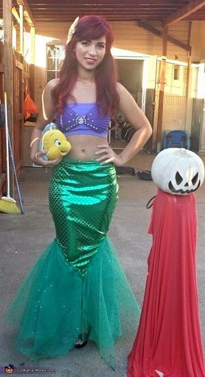 Аріель - костюм для дівчата на Хеллоуїн