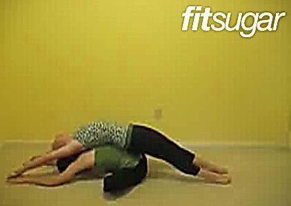 Пози йоги - Лінива метелик