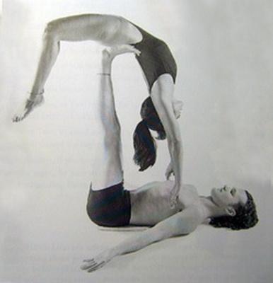 Опис пози йоги для двох
