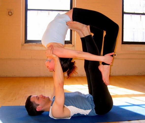 Поза йоги - Літаючий лук