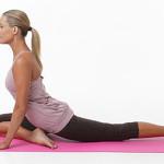 Позы йоги — поза Голубь