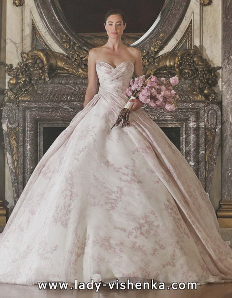 Рожеве весільне плаття 2016 - Romona Keveza