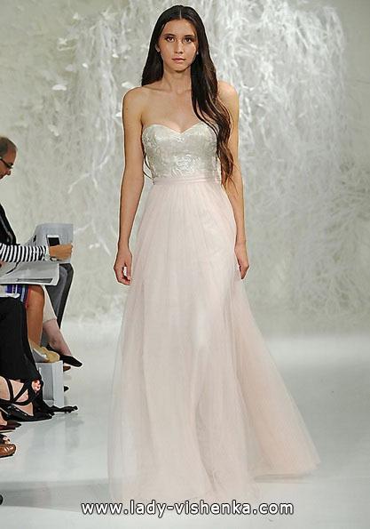 Рожеве весільне плаття 2016 - Watters