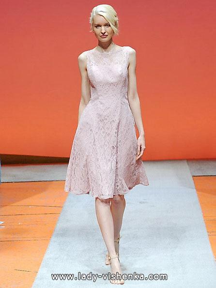 Рожеве весільне плаття 2016 - Alfred Angelo