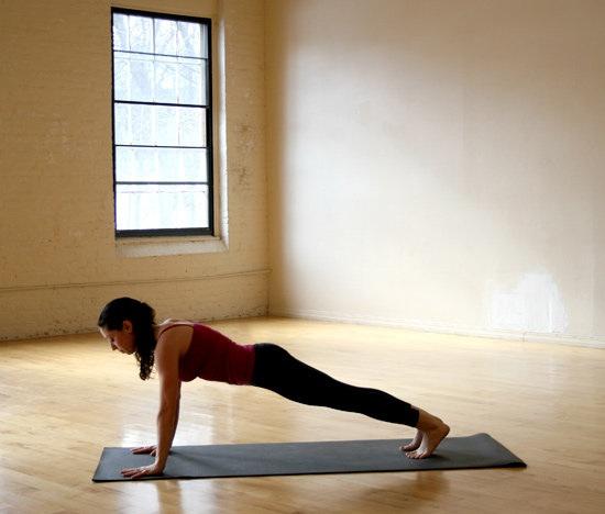 Як робити позу йоги - Палиця на чотирьох опорах