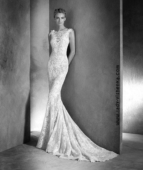 Мереживні весільні сукні Pronovias