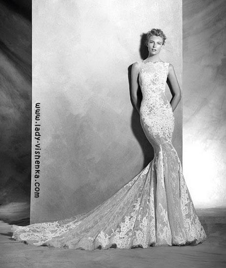 Весільні сукні з мережива Pronovias
