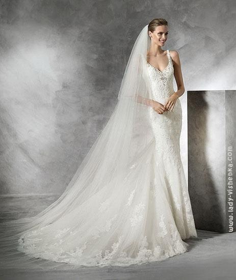 Весільні сукні 2016 фото мереживні Pronovias