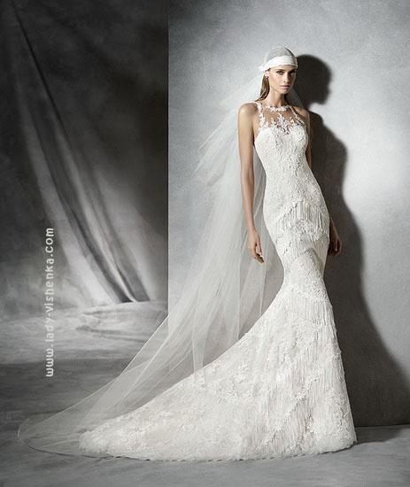 Мереживні весільні сукні 2016 Pronovias