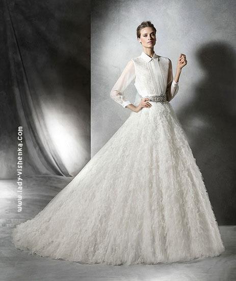Пишне довге плаття Pronovias