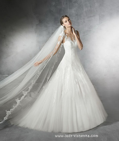 Принцеса - весільну сукню Pronovias