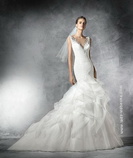 Весільну сукню фасону - рибка Pronovias