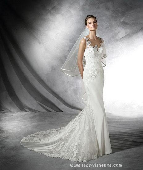 Рибка - весільну сукню Pronovias