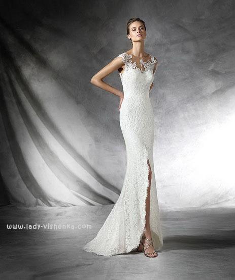 Відкрите весільну сукню Pronovias