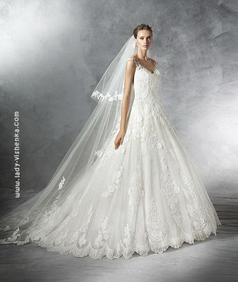 Мереживну сукню принцеси Pronovias