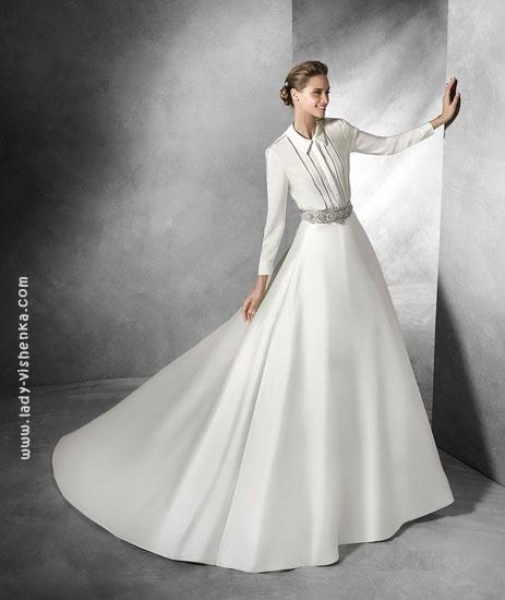 Класичне весільне плаття Pronovias