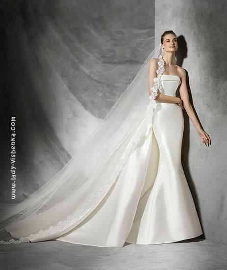 Весільні сукні рибка 2016 Pronovias