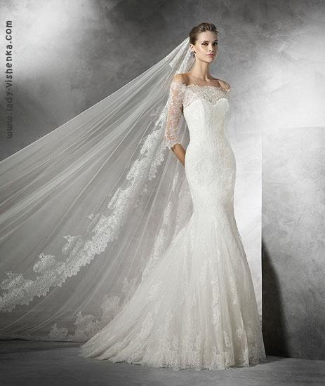 найкрасивіше весільну сукню рибка Pronovias