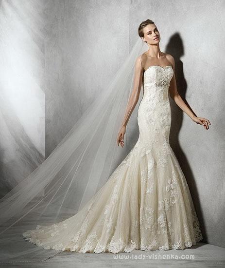 найкрасивіші весільні сукні фото Pronovias