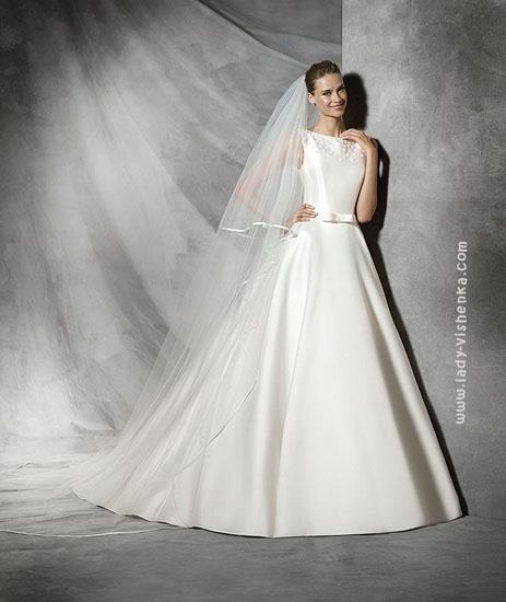 Довгі весільні сукні 2016 Pronovias