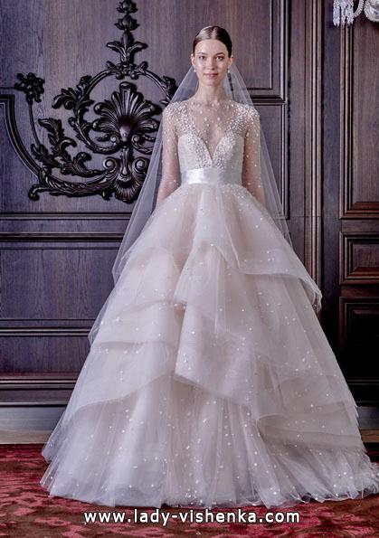 Пишні весільні сукні 2016 - Monique Lhuillier