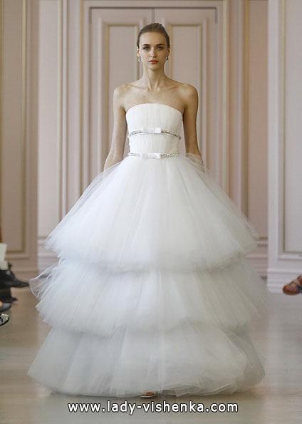 Пишні весільні сукні 2016 - Oscar De La Renta