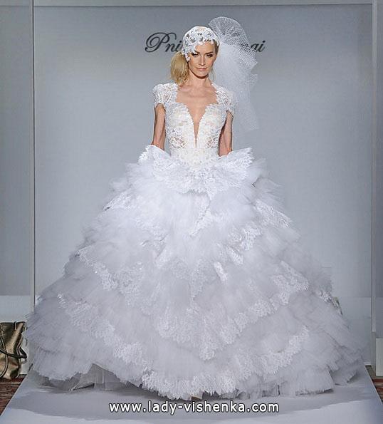 Красиві пишні весільні сукні 2016 - Pnina Tornai