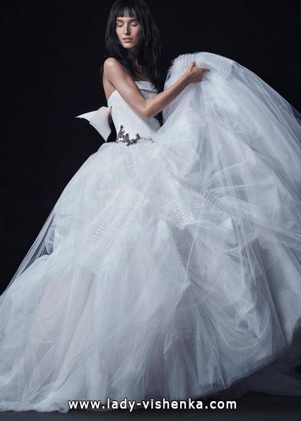 Пишні весільні сукні 2016 - Vera Wang