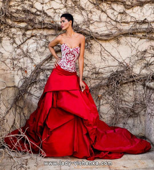 Красиві пишні весільні сукні 2016 - Jordi-Dalmau