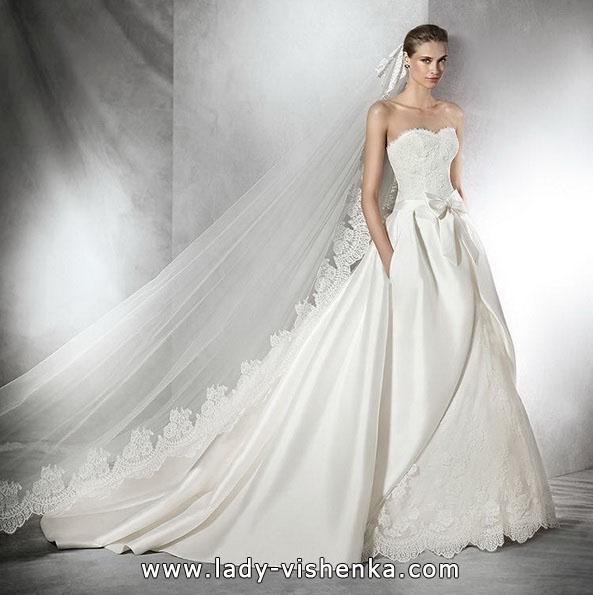 пишні Весільні сукні зі шлейфом 2016 - Pronovias