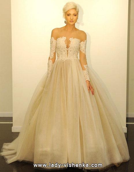 Весільні сукні 2016 пишні - Victor Harper