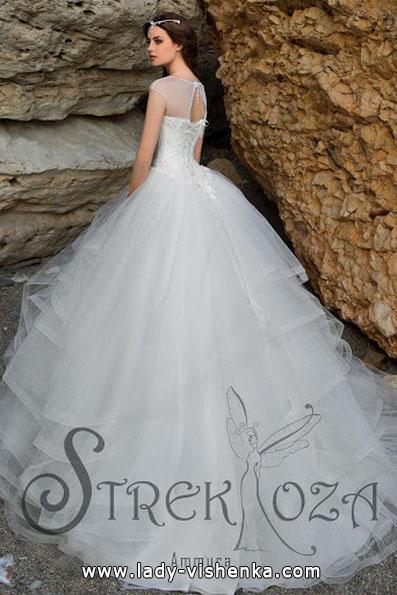 Довге пишне весільне плаття 2016 - Strekoza