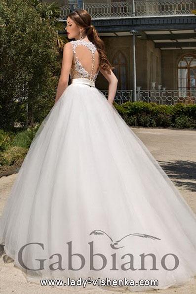 Весільні сукні з пишною спідницею 2016 - Gabbiano