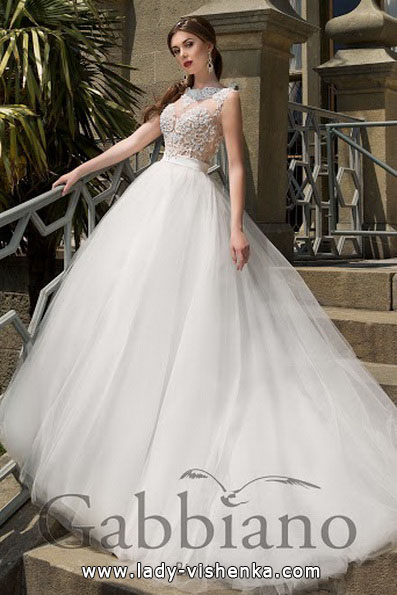 Красиві пишні весільні сукні 2016 - Gabbiano