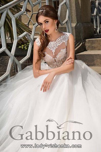 Довге пишне весільне плаття 2016 - Gabbiano