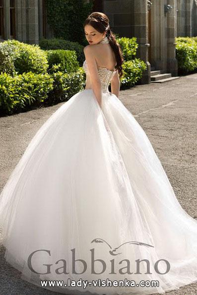 Весільні сукні 2016 пишні - Gabbiano